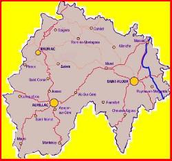 TOUR d'AUVERGNE 2010 : le CANTAL