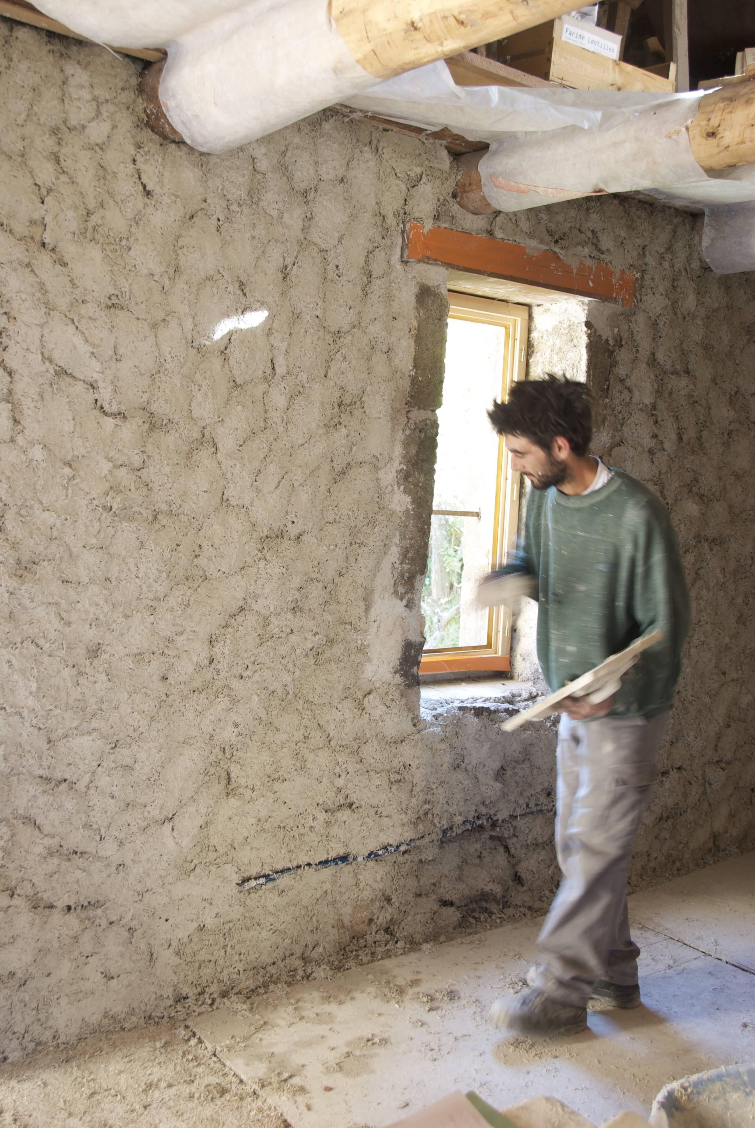 Humidite Mur Pierre Interieur recette de base du mélange chaux/chanvre   strada-dici