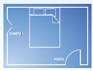 finest le feng shui de la chambre coucher stradadici with orientation du lit dans une chambre - Orientation Chambre Feng Shui
