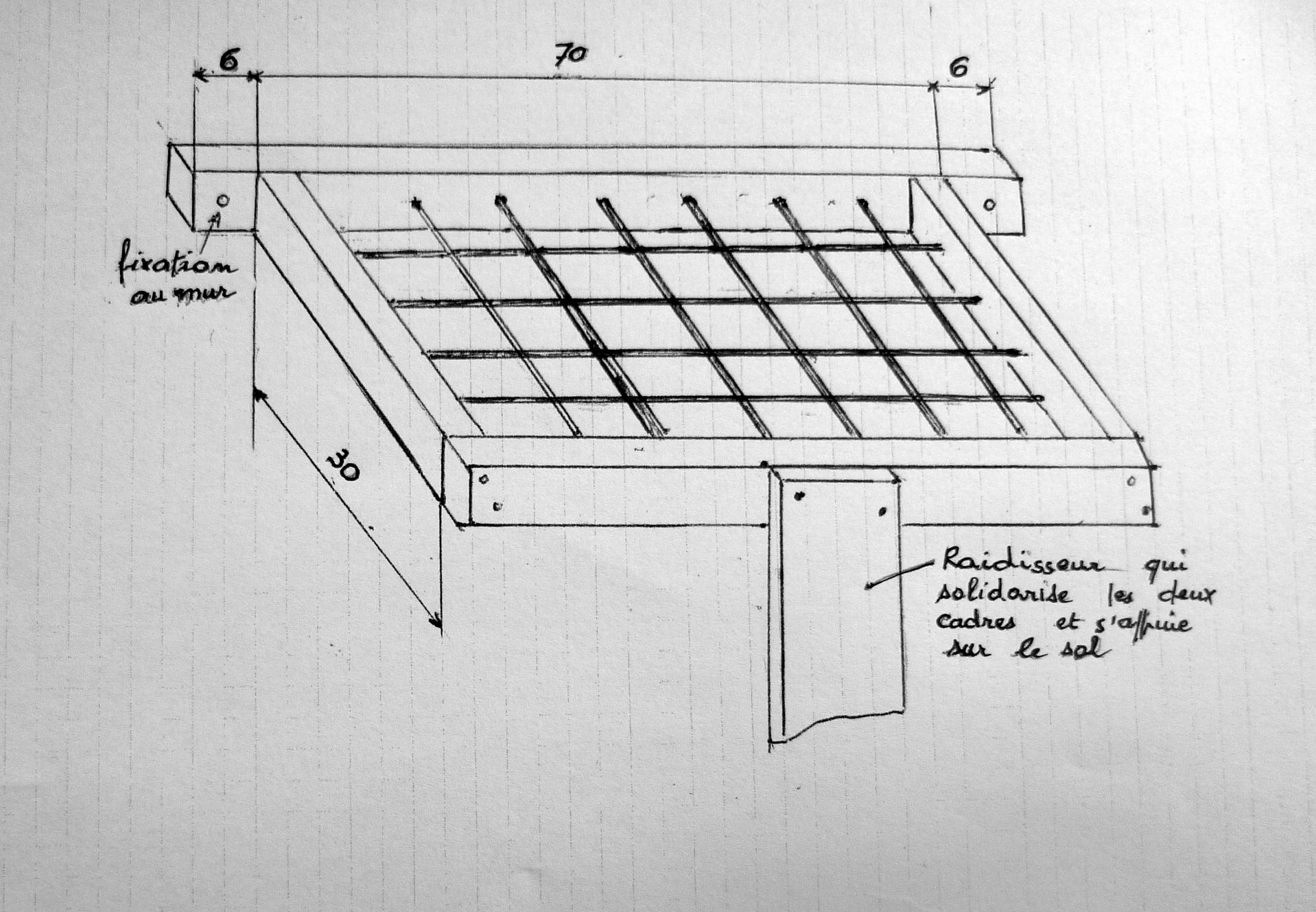 un rangement pour outils de jardin fiche pratique strada. Black Bedroom Furniture Sets. Home Design Ideas