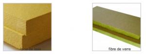 Fibre de verre ou laine de bois strada for Laine de verre ou laine de bois