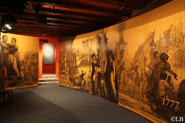 Chateau Chavaniac-Lafayette Premiere salle
