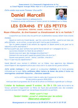 Conférence D. Marcelli