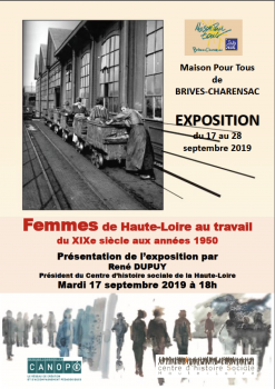 Affiche expo Brives Charensac